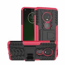 Stöttåligt skal med ställ Motorola Moto G7 Plus (XT1965) Rosa