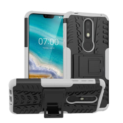 Stöttåligt skal med ställ Nokia 7.1 2018 (TA-1095) Vit