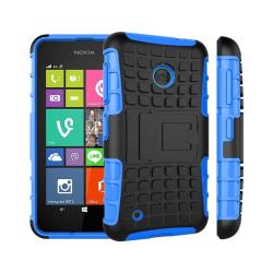 Stöttåligt skal med ställ Nokia Lumia 530 (RM-1017) Blå