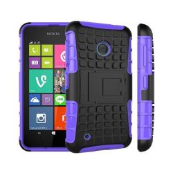 Stöttåligt skal med ställ Nokia Lumia 530 (RM-1017) Lila