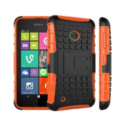 Stöttåligt skal med ställ Nokia Lumia 530 (RM-1017) Orange