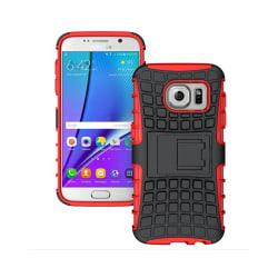 Stöttåligt skal med ställ Samsung Galaxy S7 Edge (SM-G935F) Röd