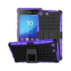 Stöttåligt skal med ställ Sony Xperia M5 (E5663) Lila
