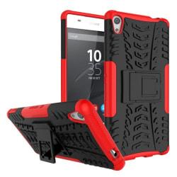 Stöttåligt skal med ställ Sony Xperia XA Ultra (F3211) Röd