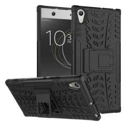 Stöttåligt skal med ställ Sony Xperia XA1 (G3121) Svart