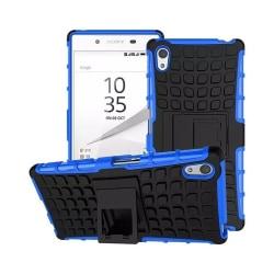 Stöttåligt skal med ställ Sony Xperia Z5 (E6653) Blå