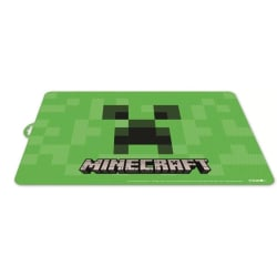 2X Bordsunderlägg Minecraft Creeper Grön