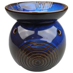 Aromalampa Cirklar Blå Svart