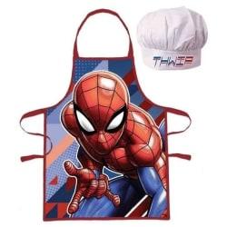 Förkläde Spindelmannen Röd