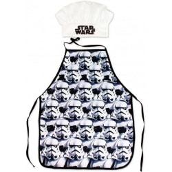 Förkläde Star Wars Svart