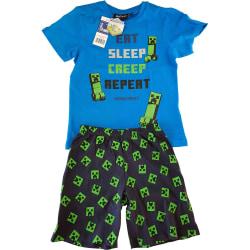 Minecraft Pyjamas Green 152