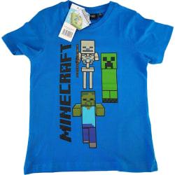 Minecraft T-Shirt Green 128