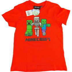 Minecraft T-Shirt Green 140