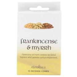 Rökelse Koner - Frankincense and Myrrh Yellow
