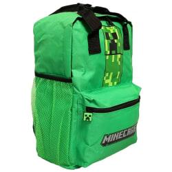 Ryggsäck / Väska Minecraft Creeper Grön