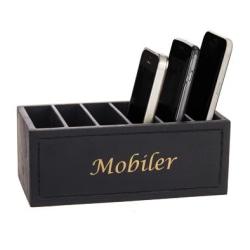 Trälåda Mobiler Svart Black