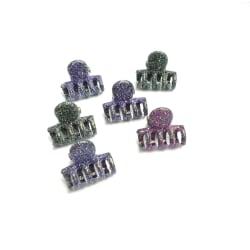 Glittriga hårspännen 6-pack