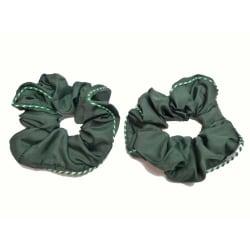 Hårsnodd Grön 2-Pack