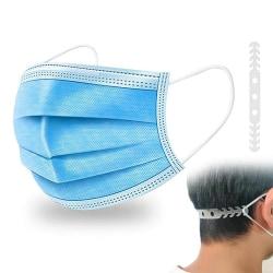 10-pack - Munskydd - CE - Skydd Mask Skyddsmask Ljusblå