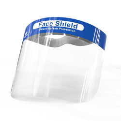 10-Pack - Visir / Skyddsvisir - Skydd för Ansikte Mun Transparent