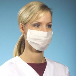 100-pack - Munskydd - CE Märkt - Skydd för Mun - Mask Skyddsmask Ljusblå