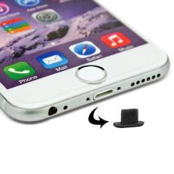 2-Pack - Dammskydd Plugg för iPhone / Lightning / Apple