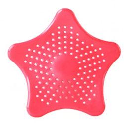 2-Pack Silikon Filter för Diskbänk & Avlopp - Röd Röd