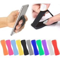 3-Pack - Mobilring för Mobil / Hållare / Grepp Svart