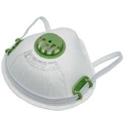 5-Pack - Munskydd FFP3 CE Märkt - Skydd Mun / Mask Skyddsmask White