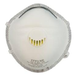 6-Pack - Munskydd FFP3 CE Märkt - Skydd Mun / Mask Skyddsmask Vit
