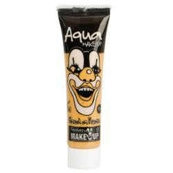 Ansiktsfärg / Smink på tub Guld - Halloween & Maskerad Guld