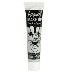 Ansiktsfärg / Smink på tub Silver - Halloween & Maskerad Silver
