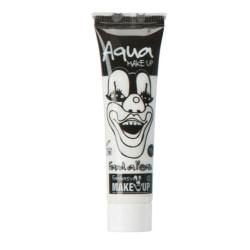Ansiktsfärg / Smink på tub Vit - Halloween & Maskerad Vit