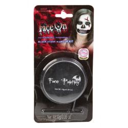 Ansiktsfärg Svart - 10g - Halloween & Maskerad Svart