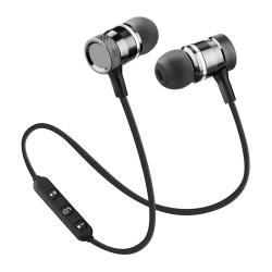 Bluetooth In-ear Hörlurar med Mikrofon - Trådlösa - Svart Svart