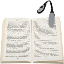 Boklampa - Läslampa / LED-lampa med Klämma - Lampa till Bok