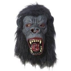 Gorillahuvud Gummimask  - Halloween & Maskerad