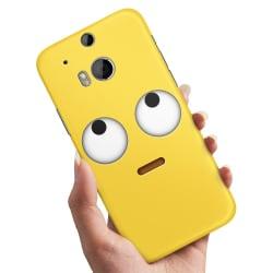 HTC One M8 - Skal / Mobilskal Emoji / Smiley