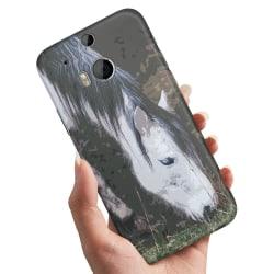 HTC One M8 - Skal / Mobilskal Häst