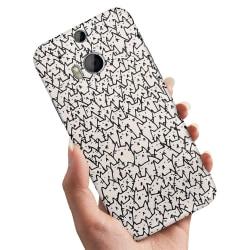 HTC One M8 - Skal / Mobilskal Kattgrupp