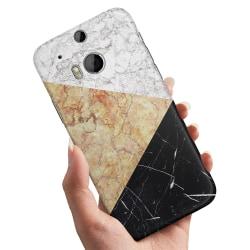 HTC One M8 - Skal / Mobilskal Marmorskivor