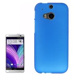 HTC One M8 - TPU Skal / Mobilskal Frostad Blå blue