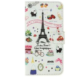 HTC One M9 Plånboksfodral Paris Symboler