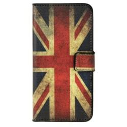 HTC One M9 Plånboksfodral Storbritannien Flagga