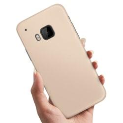HTC One M9 - Skal / Mobilskal Beige