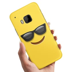 HTC One M9 - Skal / Mobilskal Emoji / Smiley