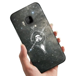 HTC One M9 - Skal / Mobilskal Galaxkompass