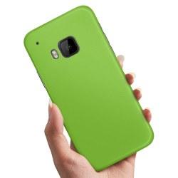 HTC One M9 - Skal / Mobilskal Limegrön
