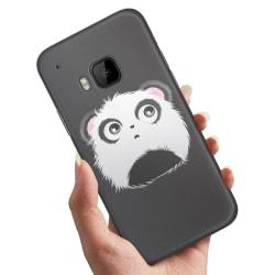 HTC One M9 - Skal / Mobilskal Pandahuvud