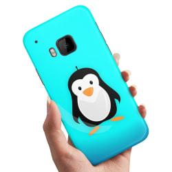 HTC One M9 - Skal / Mobilskal Pingvin